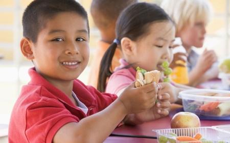 Kid's love eating healthy!